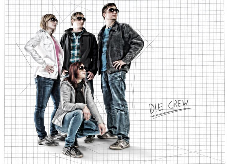 the crew photo artwork