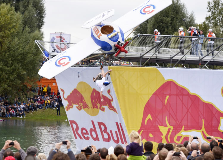 the red bull ramp with our construction