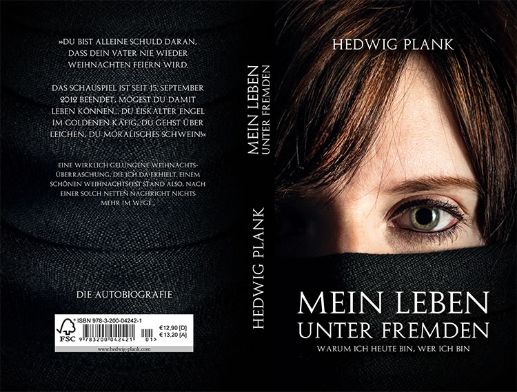 the cover of hedwig plank - mein leben unter fremden