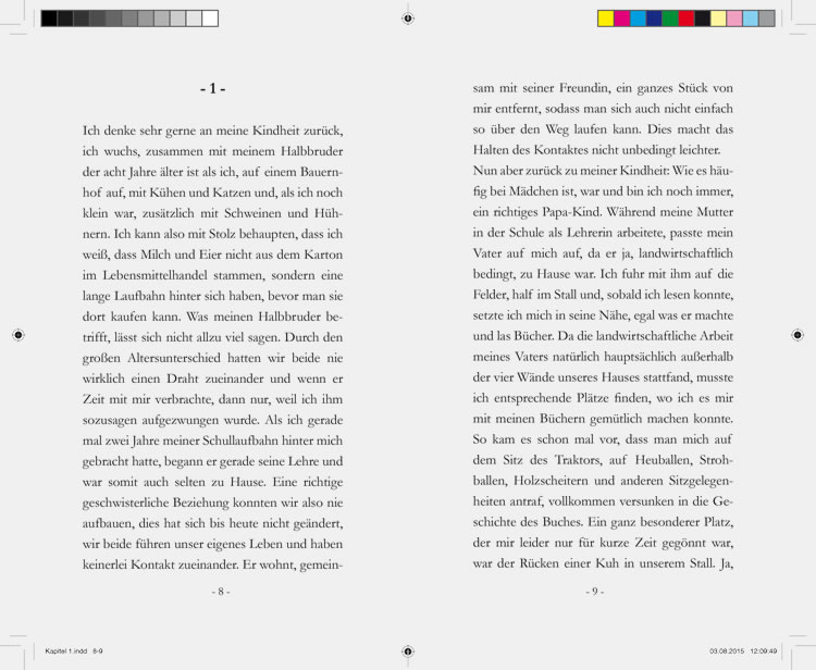 page setup for the book of hedwig plank